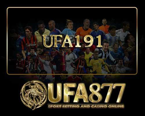 ufa191 แทงบอลออนไลน์ คาสิโนออนไลน์